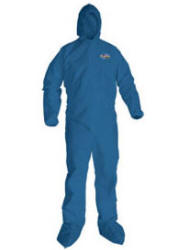 Kimberly Clark A20 blue coveralls