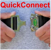 miller quick connect buckle